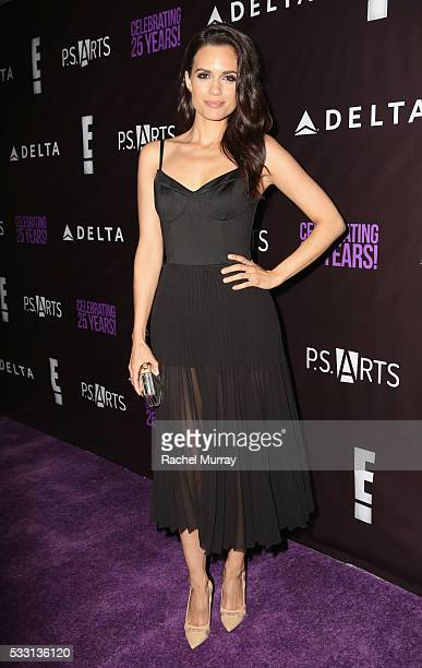 Actress Torrey DeVitto attends the pARTy celebrating 25 years of PS ARTS on May 20 2016 in Los Angeles California