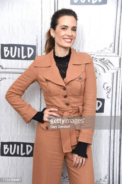 Actress Torrey DeVitto visits the Build Series to discuss the NBC drama series 'Chicago Med' at Build Studio on January 23 2019 in New York City