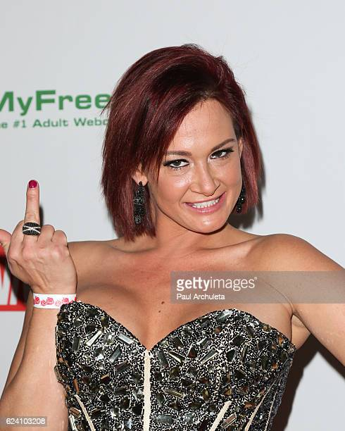 Actress Tory Lane Attends The 2017 Avn Awards Nomination Party At Avalon On November 17 2016