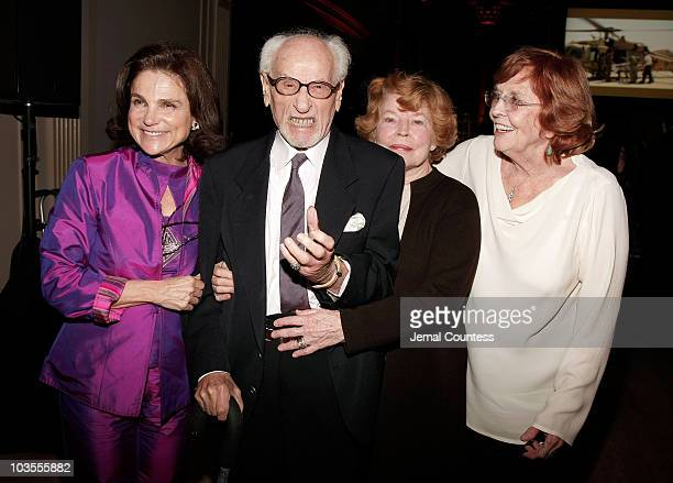 Actress Tovah Feldshuh Actor Eli Wallach Actress Anne Jackson and Actress Anne Meara at the 8th Annual American Friends of Rabin Medical Center...