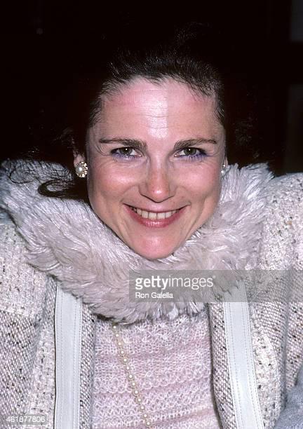 Actress Tovah Feldshuh attends The Circle OffBroadway Play Opening Night Party on February 20 1986 at Keens Steakhouse 72 West 36th Street in New...