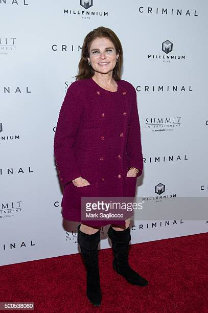 Actress Tovah Feldshuh attends the 'Criminal' New York Premiere at AMC Loews Lincoln Square 13 theater on April 11 2016 in New York City
