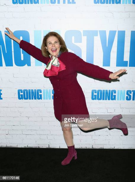 Actress Tovah Feldshuh attends the 'Going In Style' New York premiere at SVA Theatre on March 30 2017 in New York City