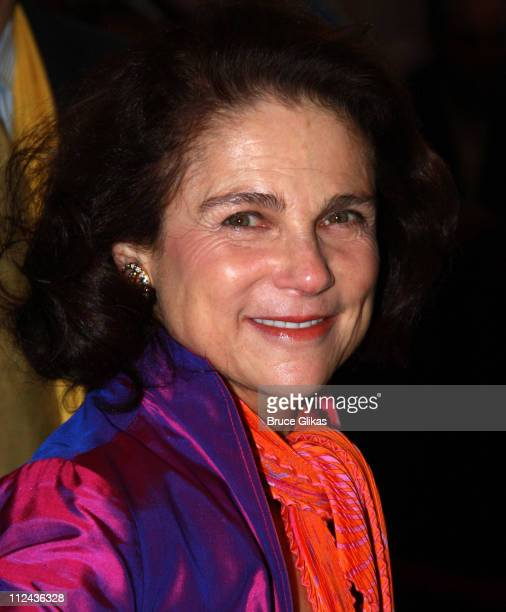 Actress Tovah Feldshuh poses at the arrivals for the new Broadway musical 'In The Heights' at the Richard Rodgers Theatre on March 9 2008 in New York...
