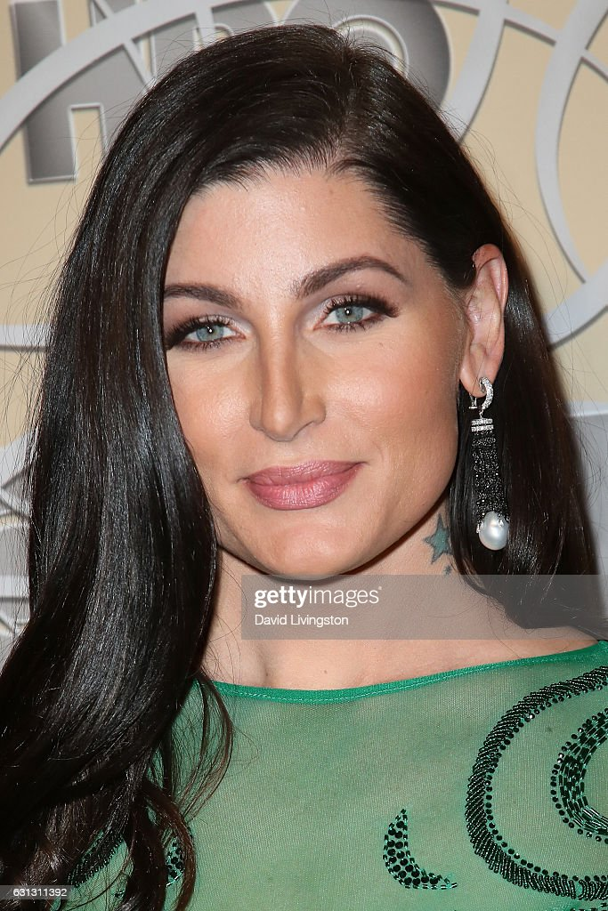 Actress Trace Lysette arrives at HBO's Official Golden Globe Awards after party at the Circa 55 Restaurant on January 8, 2017 in Los Angeles, California.