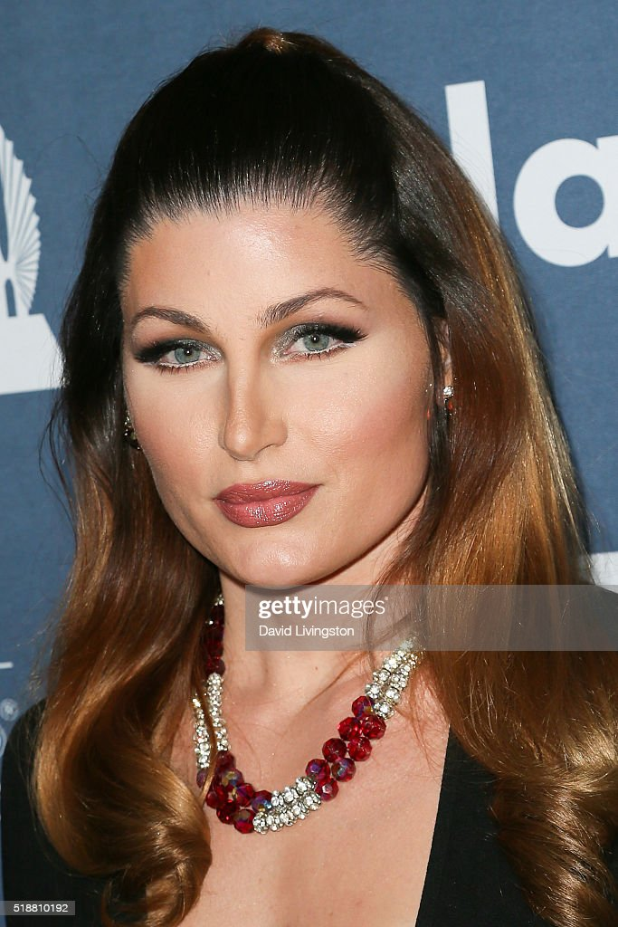 Actress Trace Lysette arrives at the 27th Annual GLAAD Media Awards at The Beverly Hilton Hotel on April 2, 2016 in Beverly Hills, California.