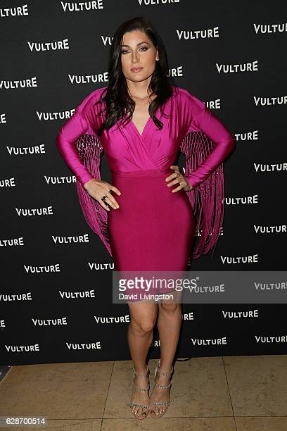 Actress Trace Lysette arrives at the Vulture Awards Season Party at the Sunset Tower Hotel on December 8 2016 in West Hollywood California