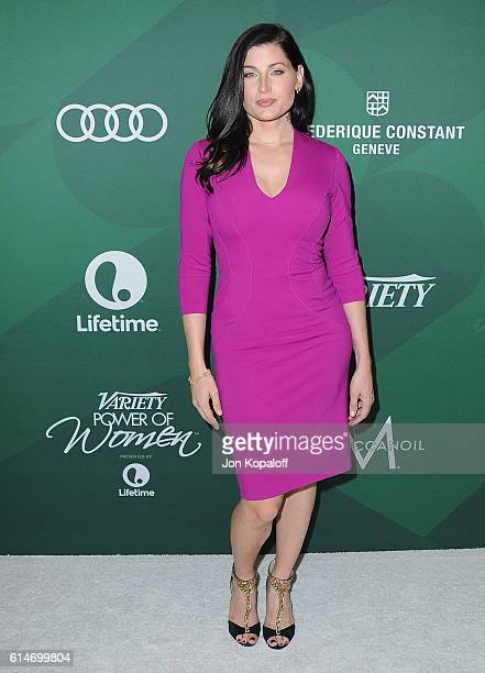 Actress Trace Lysette arrives at Variety's Power Of Women Luncheon 2016 at the Beverly Wilshire Four Seasons Hotel on October 14 2016 in Beverly...
