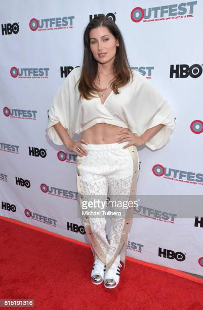 Actress Trace Lysette attends a screening of Amazon's 'Transparent' Season 4 at the 2017 Outfest Los Angeles LGBT Film Festival at Director's Guild...