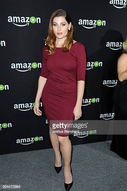 Actress Trace Lysette attends Amazon Studios Golden Globe Awards Party at The Beverly Hilton Hotel on January 10 2016 in Beverly Hills California