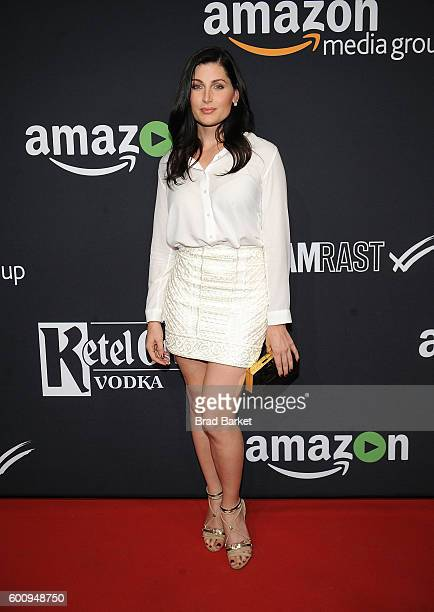 Actress Trace Lysette attends Amazon's Fall 2016 Comedy TV Series Celebration at Amazon Fashion Brooklyn New York Fashion Photography Studio on...