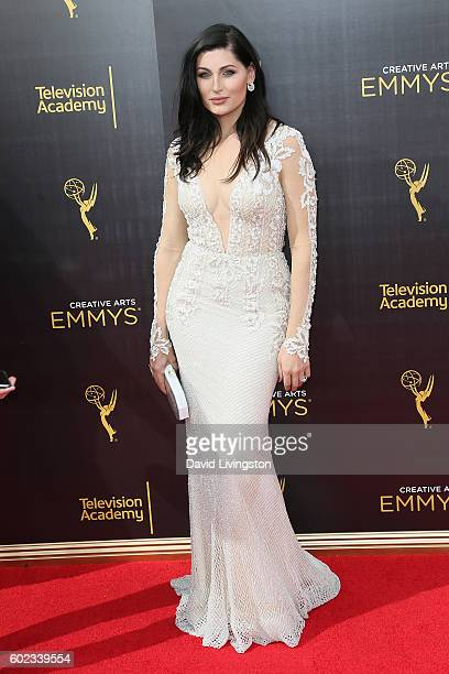 Actress Trace Lysette attends the 2016 Creative Arts Emmy Awards Day 1 at the Microsoft Theater on September 10 2016 in Los Angeles California