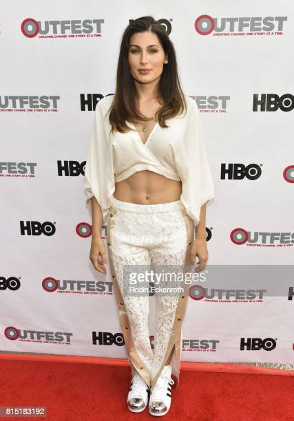 Actress Trace Lysette attends the 2017 Outfest Los Angeles LGBT Film Festival screening of Amazon's 'Transparent' Season 4 at Director's Guild Of...