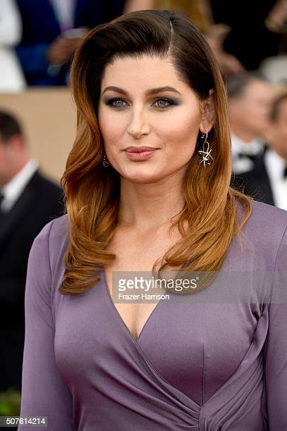 Actress Trace Lysette attends the 22nd Annual Screen Actors Guild Awards at The Shrine Auditorium on January 30 2016 in Los Angeles California