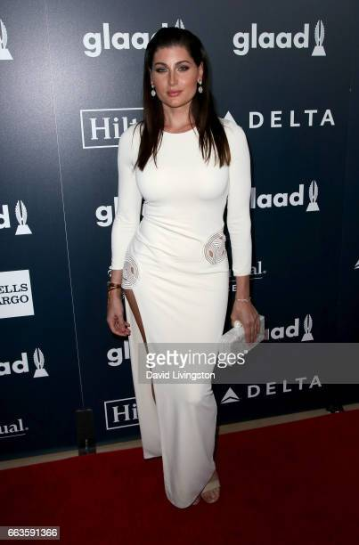Actress Trace Lysette attends the 28th Annual GLAAD Media Awards at The Beverly Hilton Hotel on April 1 2017 in Beverly Hills California