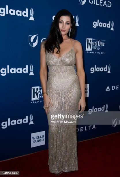Actress Trace Lysette attends the 29th Annual GLAAD Media Awards at the Beverly Hilton on April 12 2018 in Beverly Hills California / AFP PHOTO /...