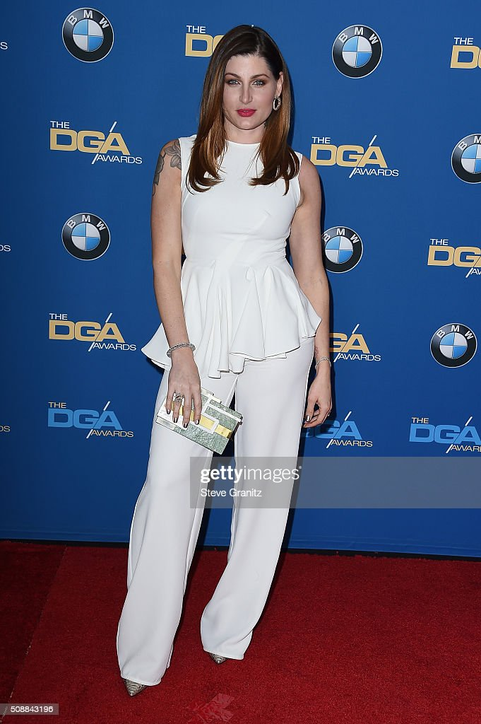 Actress Trace Lysette attends the 68th Annual Directors Guild Of America Awards at the Hyatt Regency Century Plaza on February 6, 2016 in Los Angeles, California.