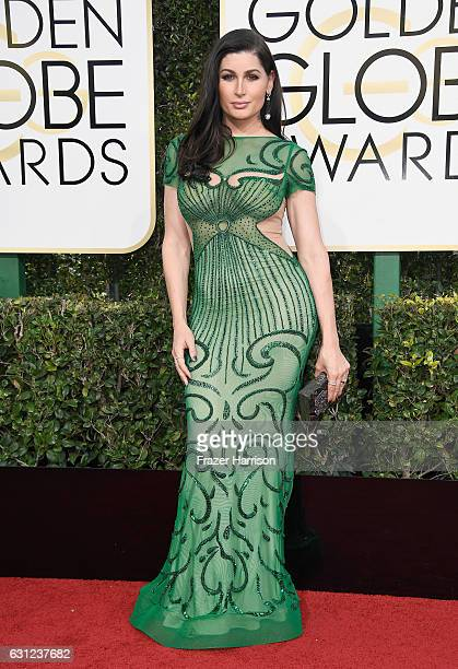 Actress Trace Lysette attends the 74th Annual Golden Globe Awards at The Beverly Hilton Hotel on January 8 2017 in Beverly Hills California