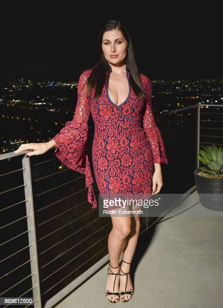Actress Trace Lysette attends the ASOS celebration of the retail debut of GLAAD's Together Movement with dinner at private residence on November 2...