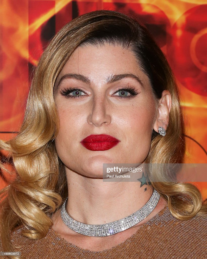 Actress Trace Lysette attends the HBO's Official 2015 Emmy After Party at The Plaza at the Pacific Design Center on September 20, 2015 in Los Angeles, California.