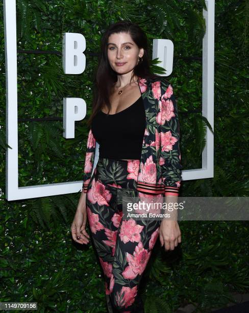 Actress Trace Lysette attends the launch of Kendrick Sampson's BLD PWR initiative at Madera Kitchen on May 16 2019 in Hollywood California