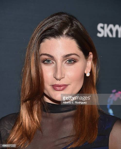 Actress Trace Lysette attends the Premiere Of Amazon's 'Transparent' Season 2 at SilverScreen Theater at the Pacific Design Center on November 9 2015...
