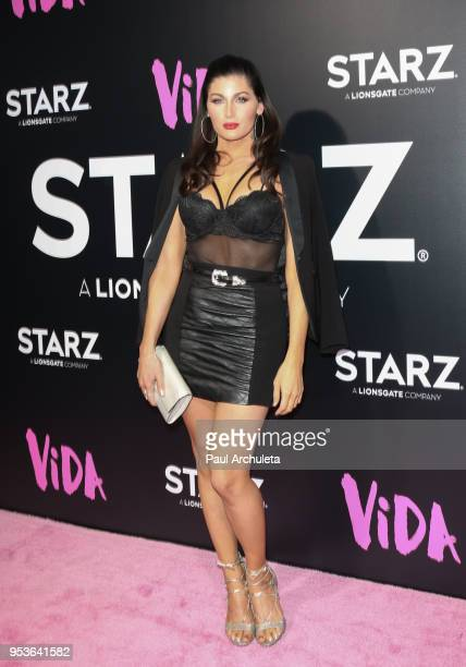Actress Trace Lysette attends the premiere of Starz 'Vida' at the Regal LA Live Stadium 14 on May 1 2018 in Los Angeles California