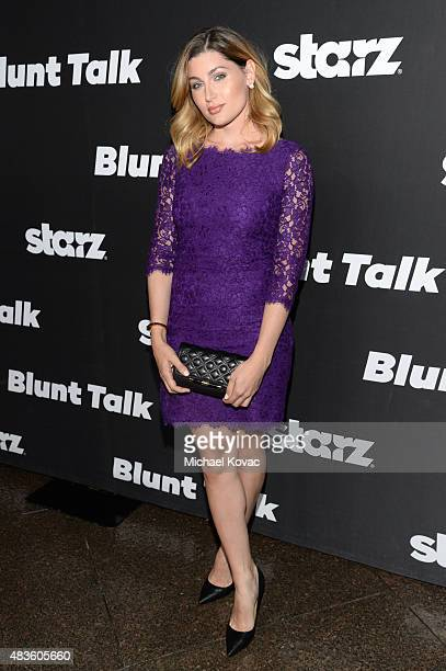 Actress Trace Lysette attends the STARZ' Blunt Talk series premiere on August 10 2015 in Los Angeles California