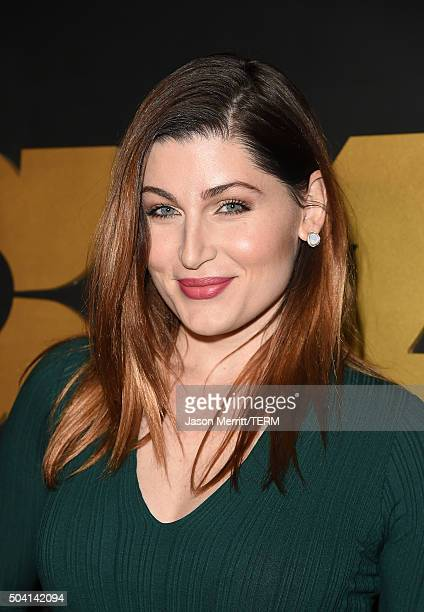 Actress Trace Lysette attends the STARZ PreGolden Globe Celebration at Chateau Marmont on January 8 2016 in Los Angeles California