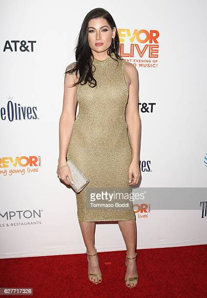 Actress Trace Lysette attends The Trevor Project's 2016 TrevorLIVE LA at The Beverly Hilton Hotel on December 4 2016 in Beverly Hills California