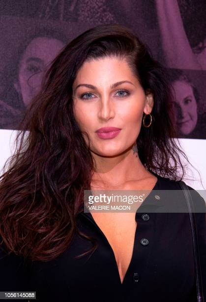 Actress Trace Lysette attends TheWrap's Power Women Summit in Los Angeles on November 1 2018
