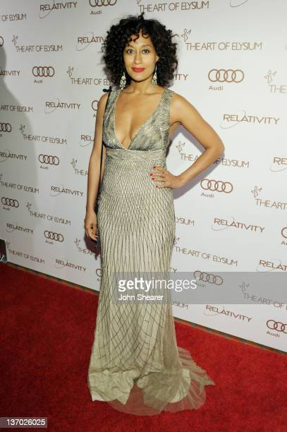 Actress Tracee Ellis Ross arrives at Audi presents The Art of Elysium's 5th annual HEAVEN at Union Station on January 14, 2012 in Los Angeles,...