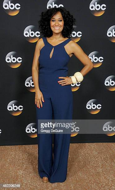 Actress Tracee Ellis Ross arrives at the 2014 Television Critics Association Summer Press Tour Disney/ABC Television Group at The Beverly Hilton...