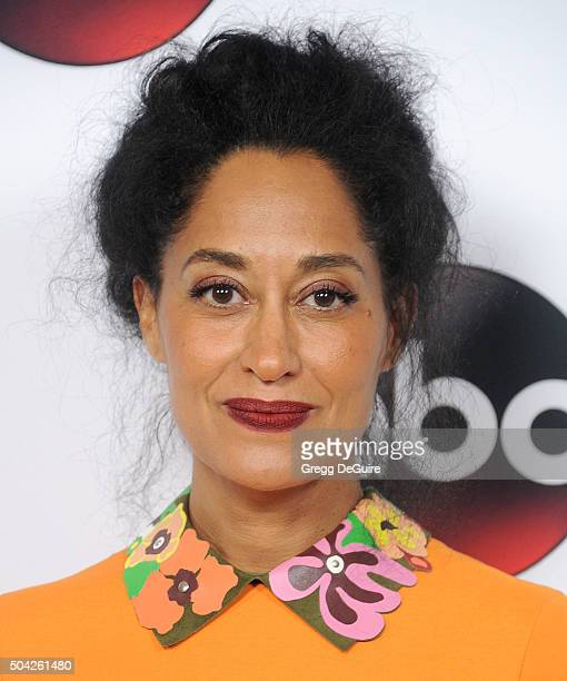 Actress Tracee Ellis Ross arrives at the 2016 Winter TCA Tour - Disney/ABC at Langham Hotel on January 9, 2016 in Pasadena, California.