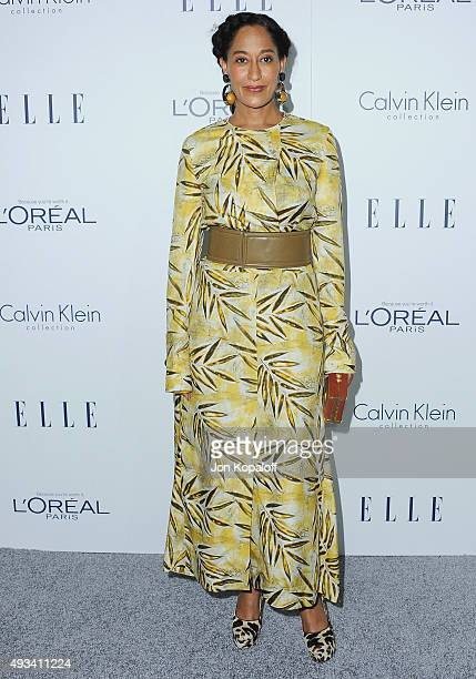 Actress Tracee Ellis Ross arrives at the 22nd Annual ELLE Women In Hollywood Awards at Four Seasons Hotel Los Angeles at Beverly Hills on October 19,...