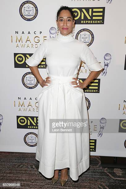 Actress Tracee Ellis Ross arrives at the 48th NAACP Image Awards Nominees' Luncheon at Loews Hollywood Hotel on January 28 2017 in Hollywood...