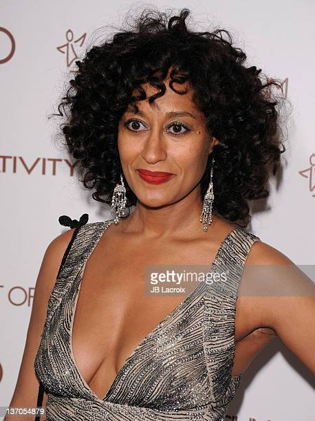 Actress Tracee Ellis Ross arrives at The Art Of Elysium's 5th Annual Heaven Gala on January 14, 2012 in Los Angeles, California.