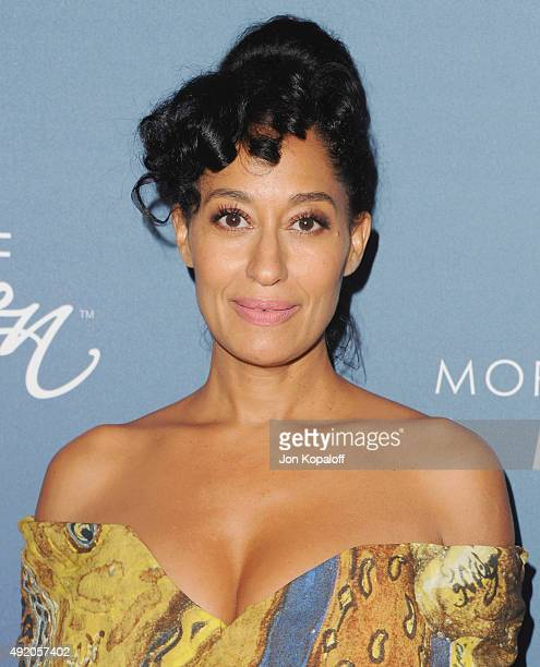 Actress Tracee Ellis Ross arrives at Variety's Power Of Women Luncheon at the Beverly Wilshire Four Seasons Hotel on October 9 2015 in Beverly Hills...