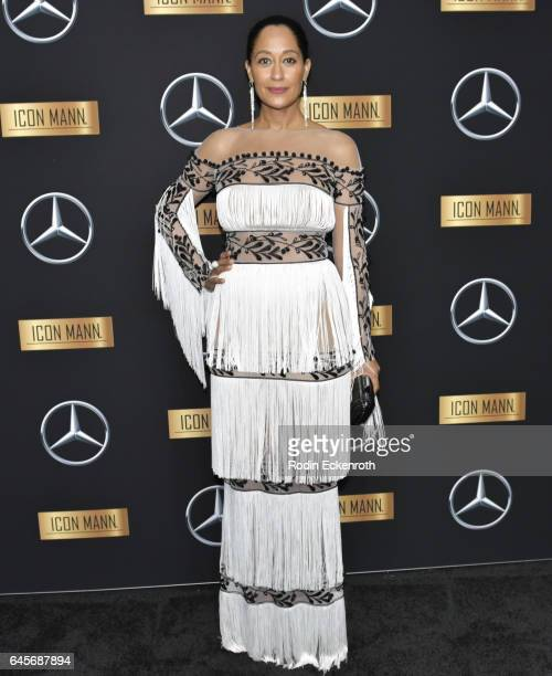 Actress Tracee Ellis Ross atends the MercedesBenz x ICON MANN 2017 Academy Awards Viewing Party at Four Seasons Hotel Los Angeles at Beverly Hills on...