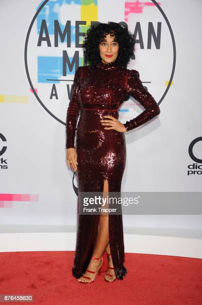 Actress Tracee Ellis Ross attends 2017 American Music Awards at Microsoft Theater on November 19 2017 in Los Angeles California