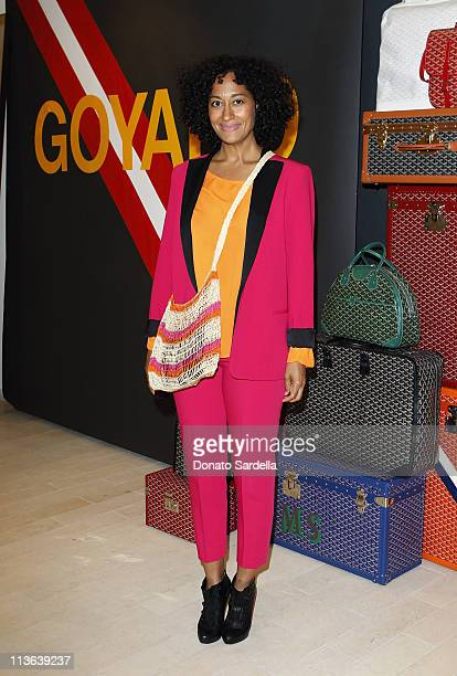 Actress Tracee Ellis Ross attends Barneys New York And Vogue Lunch To Celebrate Goyard Hosted By Amanda Brooks And Lawren Howell at Barneys New York...