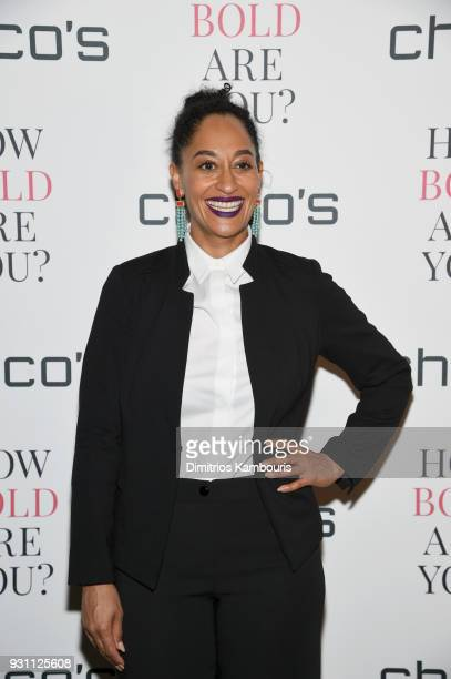 Actress Tracee Ellis Ross attends Chico's #HowBoldAreYou NYC Event at Joe's Pub on March 12 2018 in New York City
