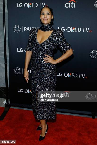 Actress Tracee Ellis Ross attends PaleyFest NY 2017 'Blackish' at The Paley Center for Media on October 9 2017 in New York City