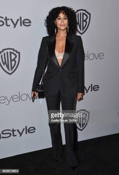 Actress Tracee Ellis Ross attends the 19th Annual PostGolden Globes Party hosted by Warner Bros Pictures and InStyle at The Beverly Hilton Hotel on...