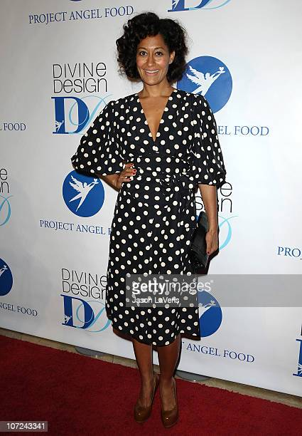 Actress Tracee Ellis Ross attends the 2010 Divine Design gala at The Beverly Hilton on December 1 2010 in Beverly Hills California