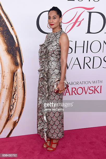 Actress Tracee Ellis Ross attends the 2016 CFDA Fashion Awards at the Hammerstein Ballroom on June 6 2016 in New York City