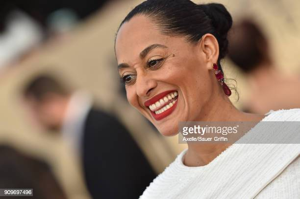 Actress Tracee Ellis Ross attends the 24th Annual Screen Actors Guild Awards at The Shrine Auditorium on January 21 2018 in Los Angeles California