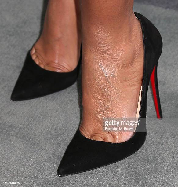 Actress Tracee Ellis Ross attends the 46th NAACP Image Awards Nomination Annoucement and Press Conference at The Paley Center for Media on December 9...