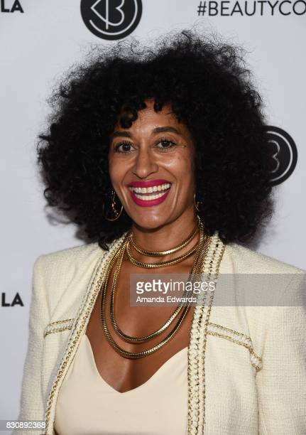 Actress Tracee Ellis Ross attends the 5th Annual Beautycon Festival Los Angeles at the Los Angeles Convention Center on August 12 2017 in Los Angeles...