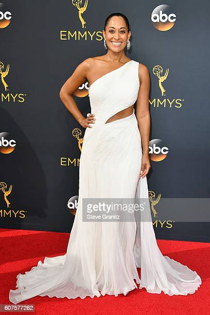 Actress Tracee Ellis Ross attends the 68th Annual Primetime Emmy Awards at Microsoft Theater on September 18 2016 in Los Angeles California